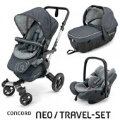 Коляска 3 в 1 Concord Neo travel-set цвета 2016
