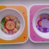 тарелки, три отделения