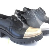 Женские демисезонные кожаные ботинки на тракторной подошве,ботинки из натуральной кожи
