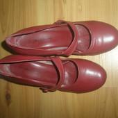 кожаные туфли Lelli для золушки , стелька 23 см