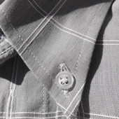 Bayard. Крутая молодёжная рубашка с коротким рукавом. Ворот 39/40
