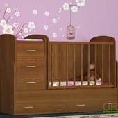 Детская кровать - трансформер  Орис 3 в 1. Орис. Киев