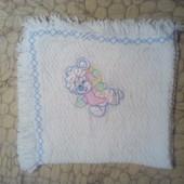 Детское вязаное одеяльце