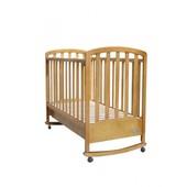 Детская кроватка Mioo Bc-470M тик (ламельR)