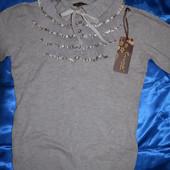 Кашемировый свитерок 44-46 р.Новый
