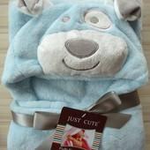 Одеялко для новорожденного Собачка, огромный выбор, лучшая цена