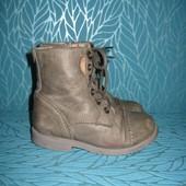 Ботинки Next кожа 23р 15 см