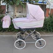 классическая коляска Inglesina Vittoria на шасси Comfort Chrome