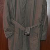 Теплый плащ, пальто  большой размер 56