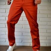 Стильные дизайнерские штаны Красные. Производства Украина