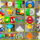 Фирменные игрушки, погремушки и грызуны