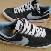 Кеды замшевые Nike (оригинал)р.41