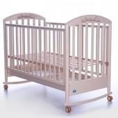 Детская кроватка Pali Zoo резьба (Magnolia, Honey, Bleached)
