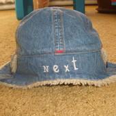 Next_ крутая кепка на флисе(3_6мес).