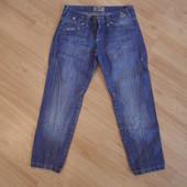 Капри джинсовые 25-26 размер ПОТ 34 см.