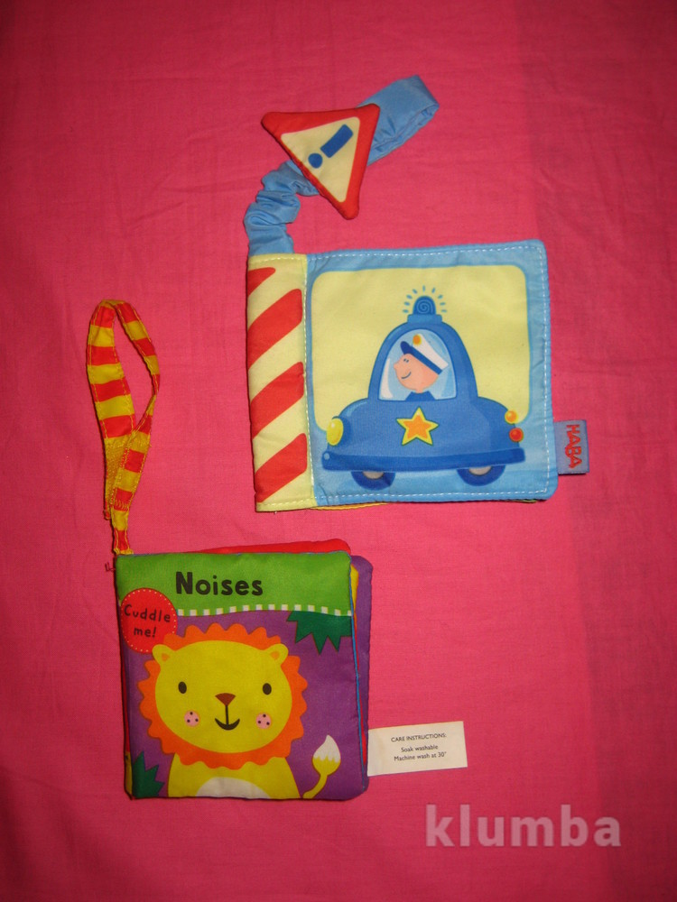 Развивающие книжки-подвески на кроватку, коляску фото №1