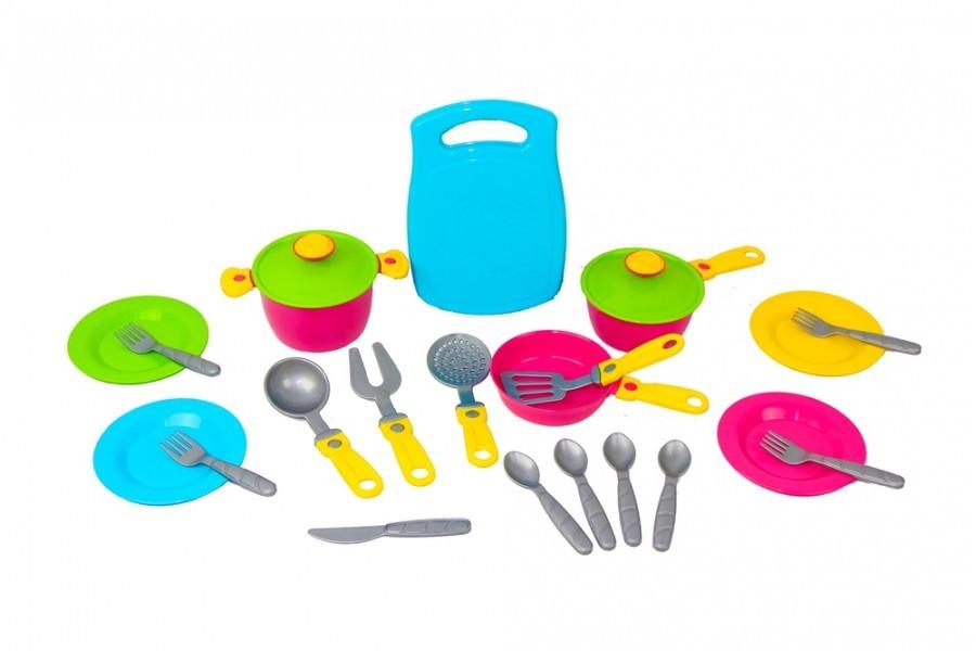 Кухонный набор 2 посудка 23 предмета технок 1677 игрушечная посуда фото №1