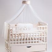 Детский Сон кроватка на маятнике слоновая кость