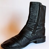 Ботинки кожаные Exquisit Model, Италия, 41 р.