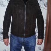 C&A Canda стильная кожаная куртка (XL)
