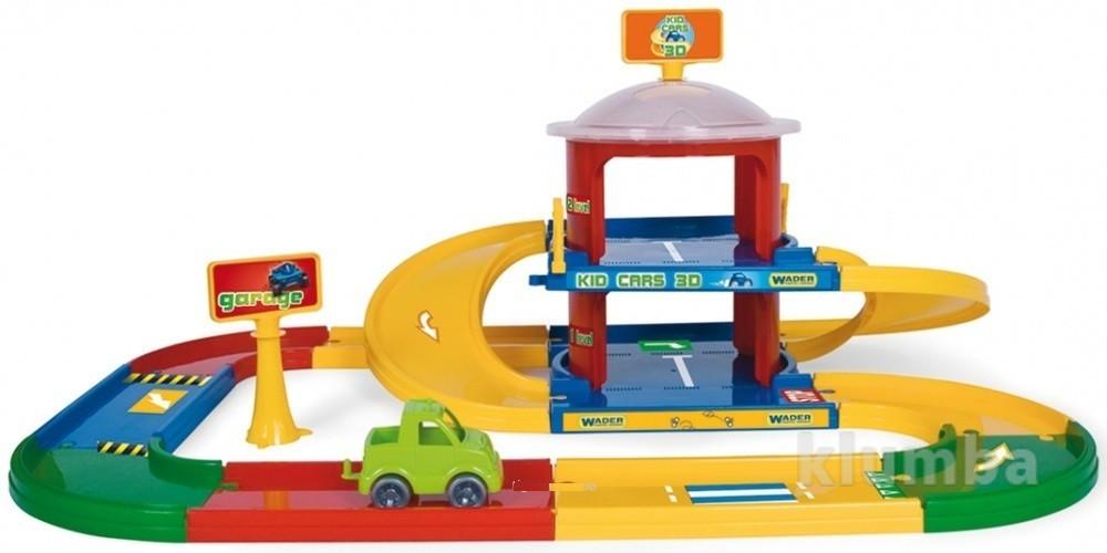 Kid cars 3d детский гараж 2 этажа с дорогой 3,4 м   53020 фото №1