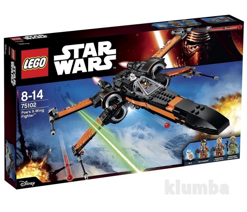 Lego Star Wars Х-подобный истребитель Поу 75102 фото №1