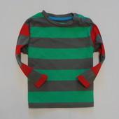 Яркий полосатый реглан TU для маленького модника, размер 6-9 месяцев, состояние отличное.