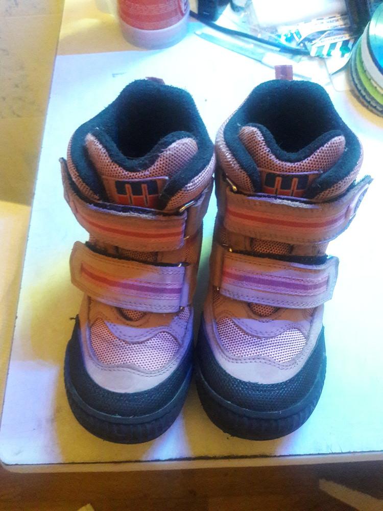 Ботинки демисезон minimen на девочку, размер 27 - 17 см фото №1