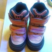 Ботинки демисезон Minimen на девочку, размер 27 - 17 см