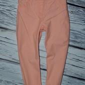 3 - 4 года рост 104 см Фирменные мего крутые штаны брюки легкие на лето Next некст