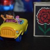Дора Даша Следопыт Dora Путешествинница машинка машина металическая для любителей