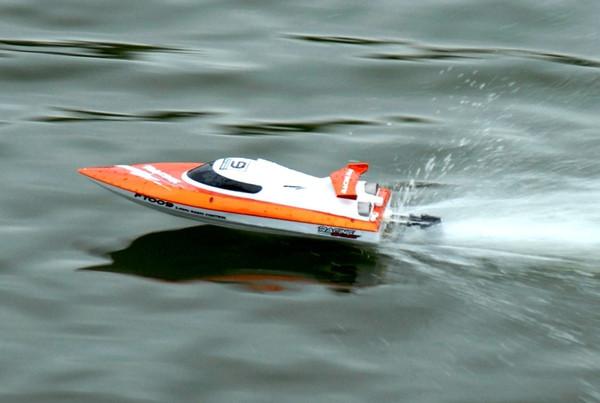 Катер fei lun ft009 high speed boat (оранжевый) фото №1