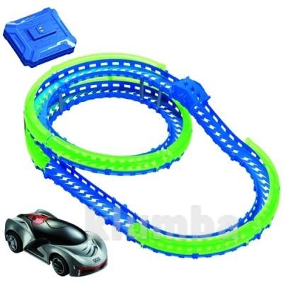 Игровой набор сер. wave racers - скоростная спираль (трек со спиралью, 1сенсор.модель, заряд.уст-во) фото №1