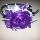 """обруч роза """"Фиолет"""""""