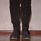Итальянские сапоги-ботфорты Tommy Hilfiger
