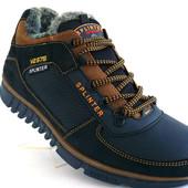 Ботинки Splinter Кожа Мех качество100%