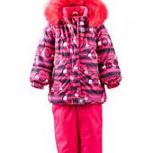 Комплект комбинезон куртка раздельный термо мембранный Lenne на девочку  80-122