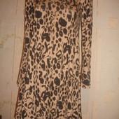 Фирменное M&S стильное теплое платье на 48 размер