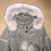 Зимняя куртка, натур.мех