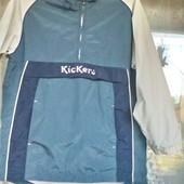 Спортивная ветровка - дождевик  Kickers .( М, 46 -48)