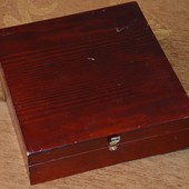 ящик с красного дерева Bentley's