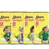Акция! Трусики Libero Dry pants 4, 5, 6, 7!