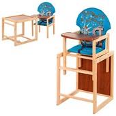 Виваст Я Головный MV 010 стульчик для кормления трансформер Vivast столик и стульчик