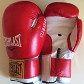 Перчатки для бокса Everlast Кожа 10 унц