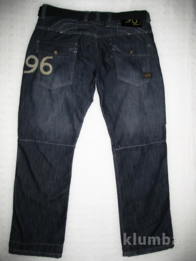 Фирменные джинсы G-Star р. 38 L32 фото №1