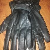 Перчатки Schott мужские кожаные