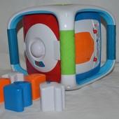Фирменный развивающий музыкальный куб сортер