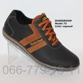 Мужские кожаные туфли Timberland реплика