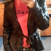 Красивая модная куртка , р-М кожа