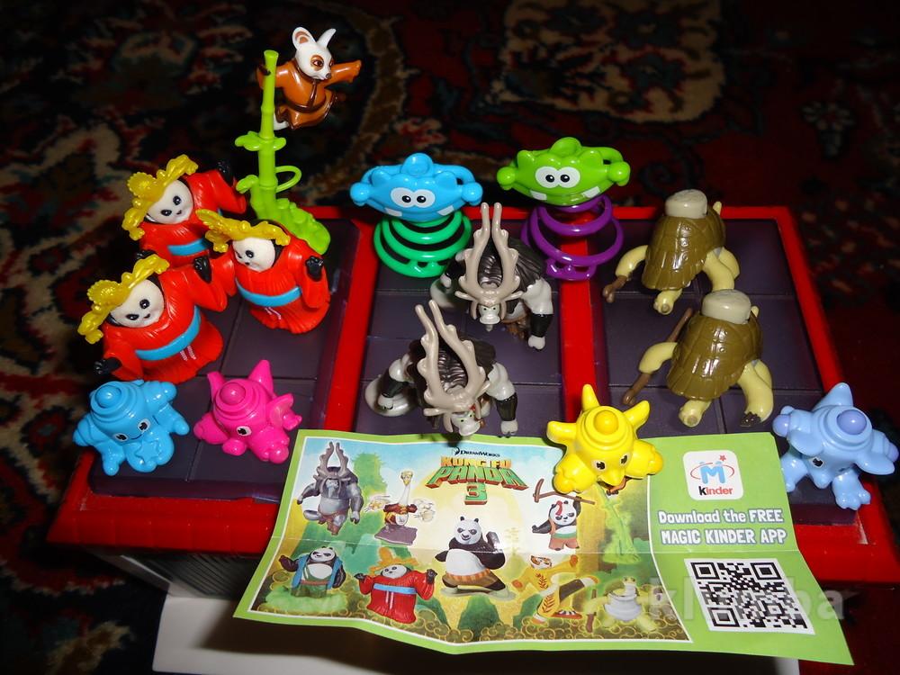 Игрушки от киндер сюрпризов и барни. фото №1